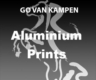 Aluminium Kunst Prints door Go van Kampen