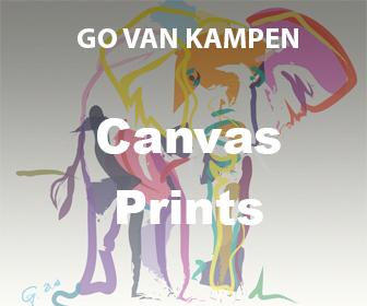 Canvas Kunst Prints door Go van Kampen