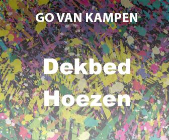 Kunst Dekbedhoezen door Go van Kampen
