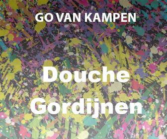 Kunst Douchegordijnen door Go van Kampen