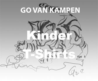 Kunst Kindertshirts door Go van Kampen