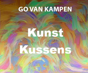 Kunst Kussens door Go van Kampen