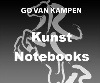 Kunst Notitieboekjes door Go van Kampen