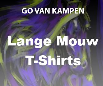 Kunst Heren Lange Mouw Tshirts door Go van Kampen