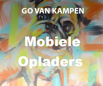 Kunst Batterij Opladers door Go van Kampen