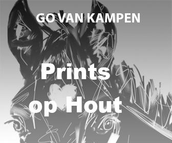 Kunst Prints op Hout door Go van Kampen