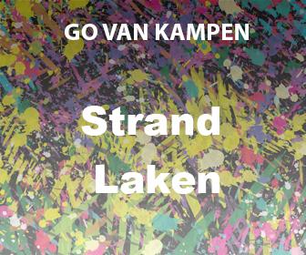 Kunst Strandlakesn door Go van Kampen