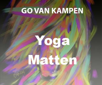Kunst Yoga Matten door Go van Kampen