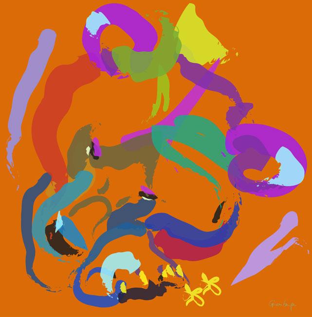 Digital painting Bear
