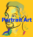 Portrait Art Gallery by Go van Kampen