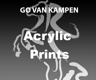 Acrylic Art Prints by Go van Kampen