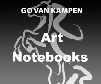Art Spiral Notebooks by Go van Kampen
