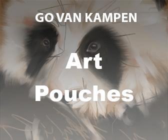 Art Pouches by Go van Kampen