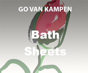 Bath Sheets by Go van Kampen