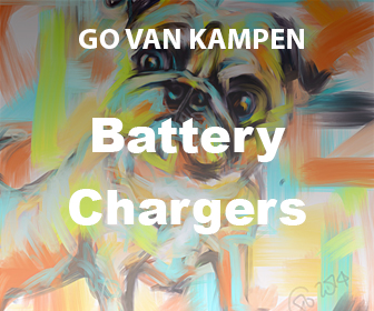 Art Portable Battery Chargers by Go van Kampen