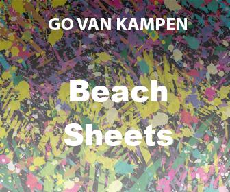 Art Beach Sheets by Go van Kampen