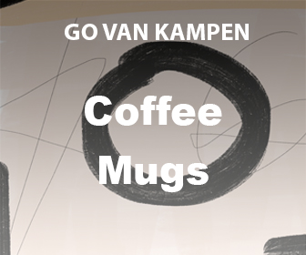 Art Coffee Mugs by Go van Kampen