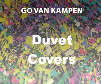 Art Duvet Covers by Go van Kampen