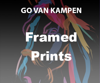 Framed Art Prints by Go van Kampen