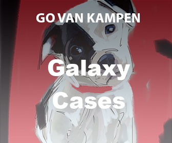Art Galaxy Cases by Go van Kampen