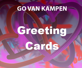 Art Greeting Cards by Go van Kampen