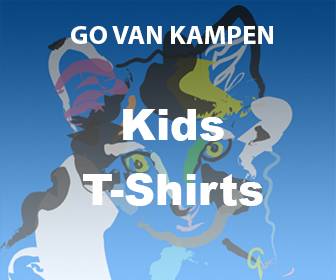 Art Kids Tshirts by Go van Kampen