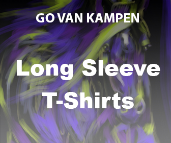 Art men's Long Sleeve Tshirts by Go van Kampen