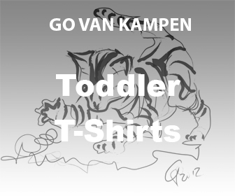 Art Toddler Tshirts by Go van Kampen