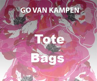 Art Tote Bags by Go van Kampen