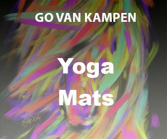 Art Yoga Mats by Go van Kampen
